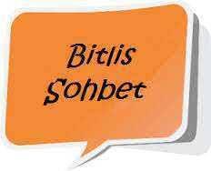 Bitlis Sohbet