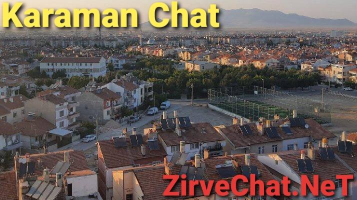 Karaman chat karaman sohbet odaları