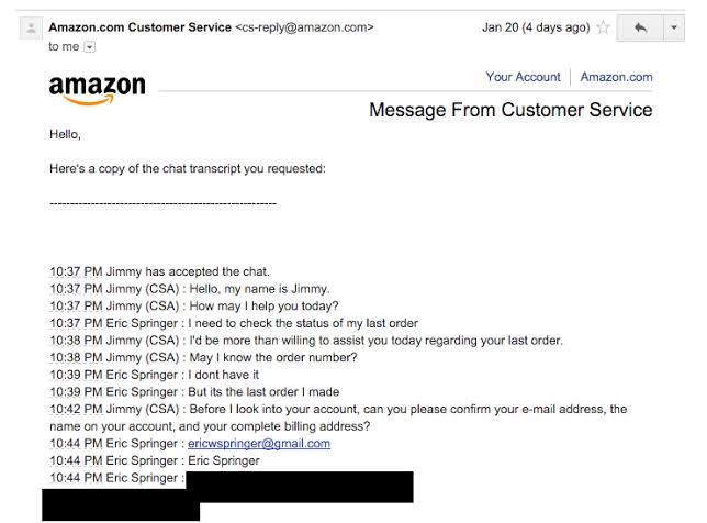 Amazon Chat