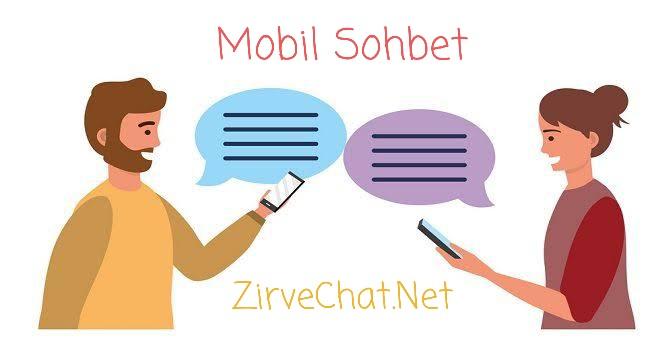 Mobil chat mobil sohbet odası